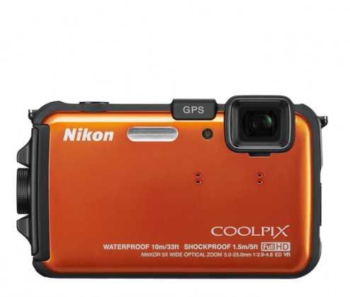 Nikon Coolpix AW100 Orange