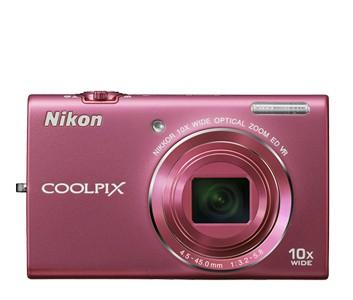 Nikon Coolpix S6200 Pink