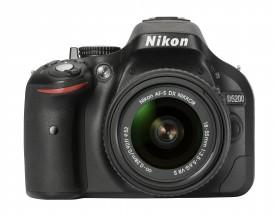 Nikon D5200+objektiv NIKKOR 18-55mm