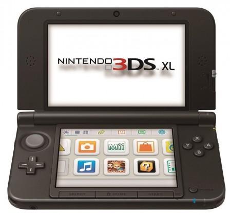 Nintendo 3DS XL Black + Blue