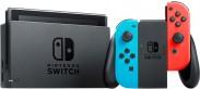Nintendo Switch, červená/modrá NSH005