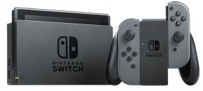 Nintendo Switch, šedá  NSH001
