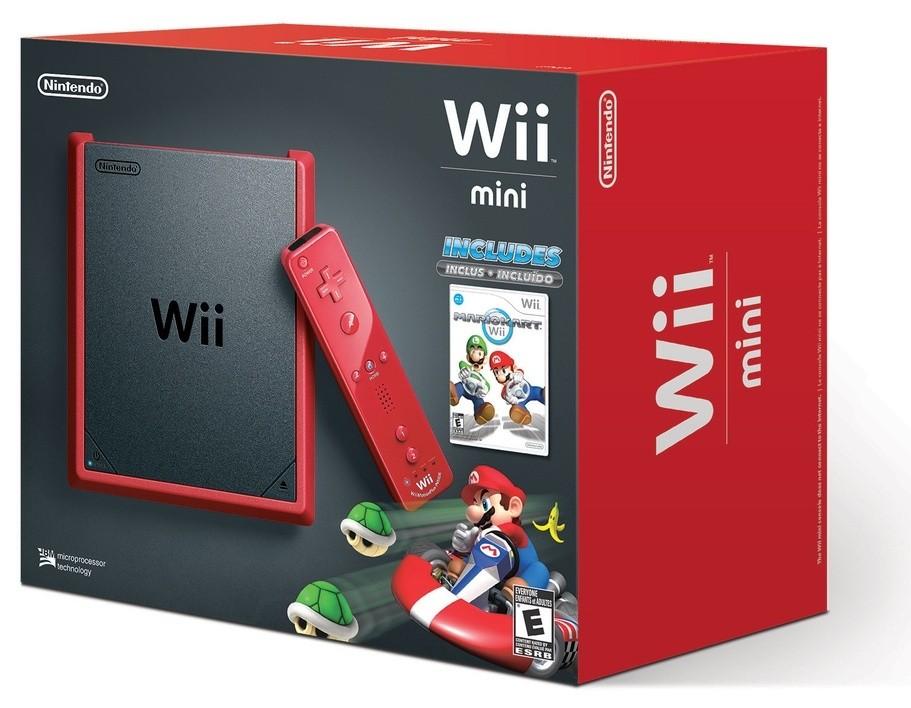 Nintendo Wii Mini (Red) + Mario Kart