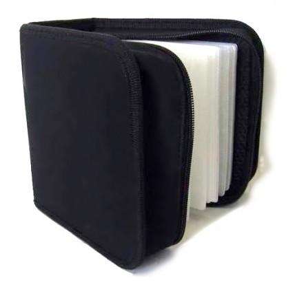 NN box-puzdro: 48 CD zapínacie čierne