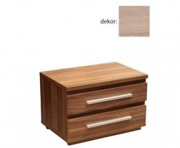 Nočný stolík Dafne 2 (dub bardolino)