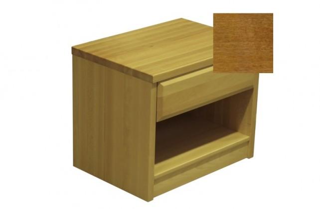 Nočný stolík Elis - Nočný stolík (orech svetlý)