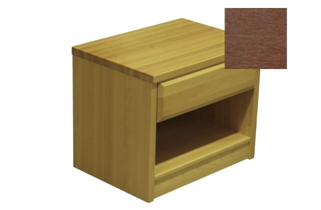 Nočný stolík Elis - Nočný stolík (slivka)