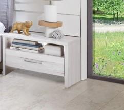 Nočný stolík Kampen 848697(biely dub)