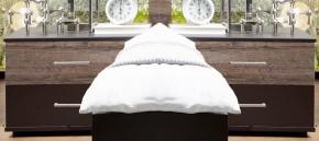 Nočný stolík Madeira - 2ks (dub/láva)
