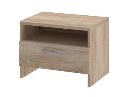 Nočný stolík Nočný stolík UNO - typ NS (dub bardolino)