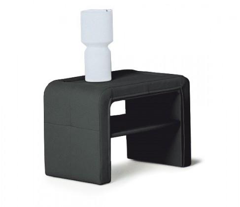 Nočný stolík Sara - Nočný stolík (čierna)