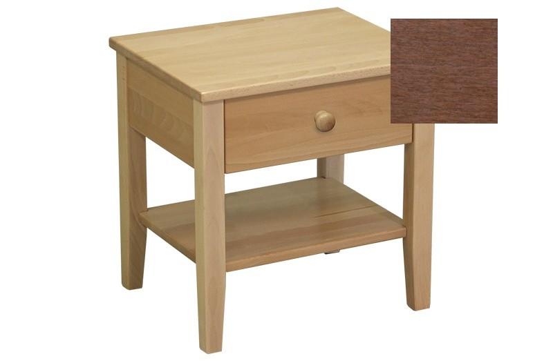 Nočný stolík Talia - nočný stolík (slivka)