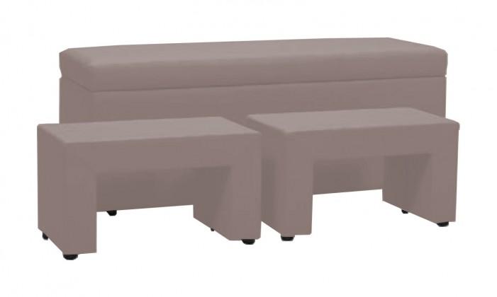 Nočný stolík TRIPLE + NIGHT STANDS (light grey , sk. VI)