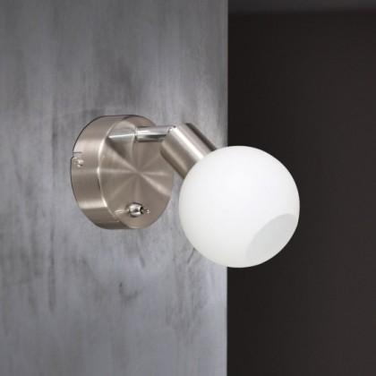 Nois - Nástenné svietidlo, LED (nikel)