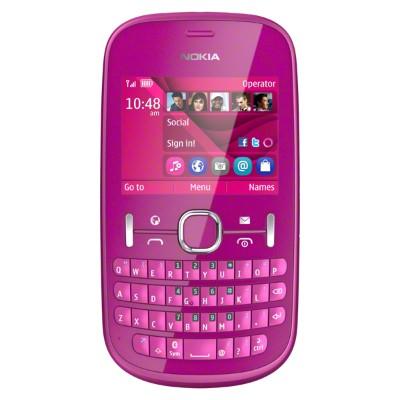 Nokia ASHA 201 Pink