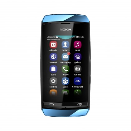 Nokia Asha 306 Blue