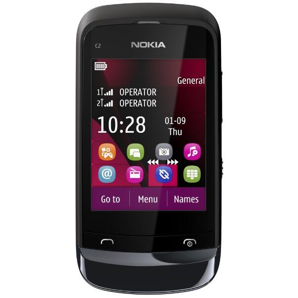 Nokia C203CH Black (002Z1D5)