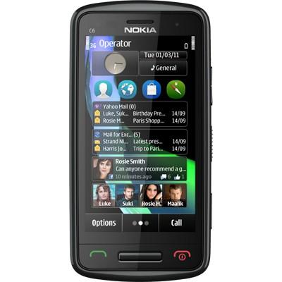 Nokia C6-01 Black