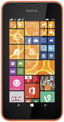 Nokia Lumia 530 (Dual SIM) Bright Orange ROZBALENO