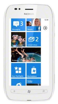 Nokia LUMIA 710 White