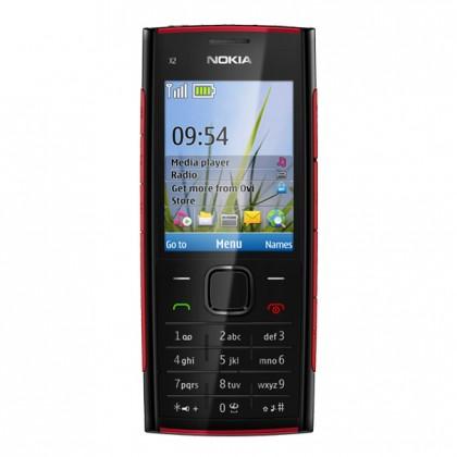 NOKIA X2-00 Black Red