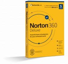 Norton 360 Deluxe 50GB, 1 užívateľ, 5 zariadení (21415000)