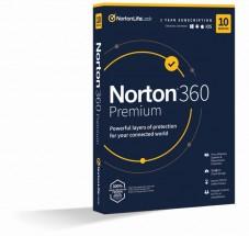 Norton 360 Premium 75GB, 1 užívateľ, 10 zariadení (21416695)