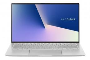 "Notebook Asus UX433FAC-A5125T 14"" i5 8GB, SSD 256GB, Silver + ZADARMO slúchadlá Connect IT"