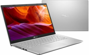 "Notebook Asus X409UA-EK017T 14"" i3-7020U 4GB, SSD 256GB, Silver + ZADARMO USB Flashdisk Kingston 16GB"