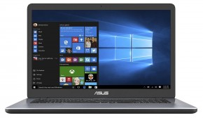 "Notebook Asus X705UA-BX318T 17,3"" i3-6006U 4GB, SSD 256GB, Grey"