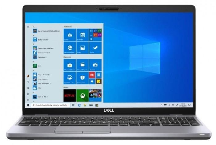 """Notebook DELL Latitude 5510 15,6"""" i5 8 GB, SSD 256 GB, V8G3T"""