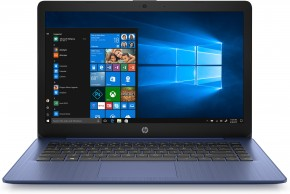 "Notebook HP 14-ds0006nc 14"" AMD A4 4GB, 64GB, Blue + ZADARMO slúchadlá Connect IT"