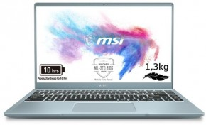 Notebook MSI Modern 14 B10MW-051CZ i7 16 GB, SSD 512 GB