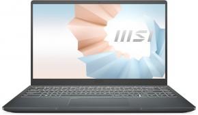 Notebook MSI Modern 14 B11SB-216CZ i7 16 GB, SSD 512 GB, MX450