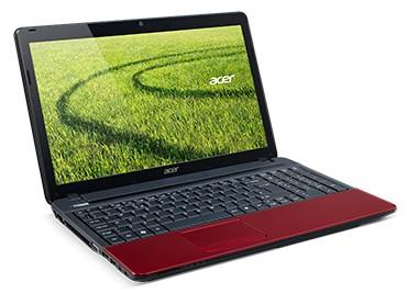 Notebooky  Acer Aspire E1-531-10054G50Marr červená (NX.M9REC.010)