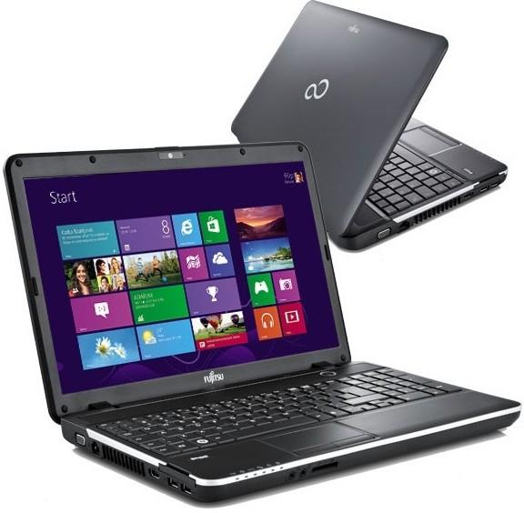 Notebooky  Fujitsu Lifebook AH512 černá (VFY:AH512MPAE2CZ)