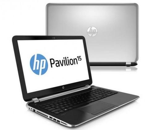 Notebooky  HP Pavilion 15-n051sc, stříbrná