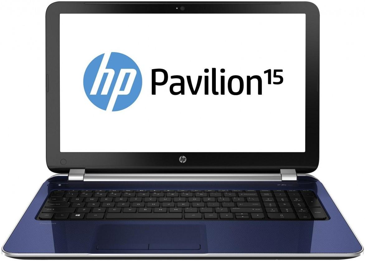 Notebooky  HP Pavilion 15-n255sc modrý (G1M82EA#BCM)