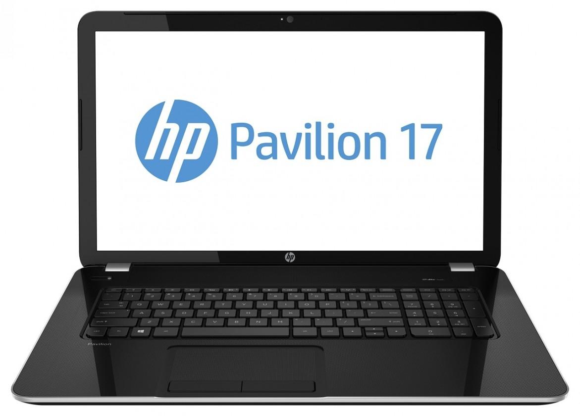 Notebooky  HP Pavilion 17-e033sc černý (F4B57EA)
