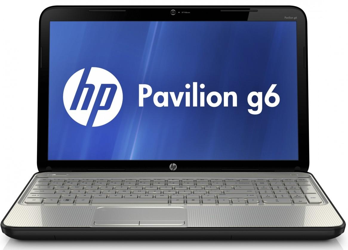 Notebooky  HP Pavilion g6-2225ec černá-bílá (C3M33EA#BCM)