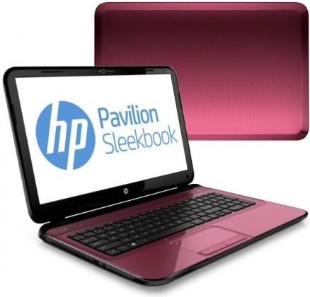 Notebooky  HP Pavilion Sleekbook 15-b025ec červená (C5R51EA#BCM)