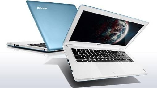 Notebooky  Lenovo IdeaPad U310-59387078, modrá