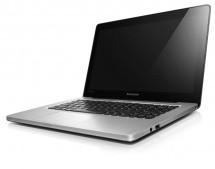 Notebooky  Lenovo IdeaPad U310 Graphite Grey šedá (59387085) BAZAR