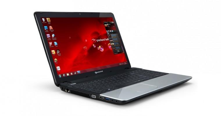 Notebooky  Packard Bell EasyNote TE11HC černá (NX.C1FES.028)