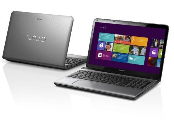 Notebooky  Sony VAIO E15 stříbrná (SVE1512U1ESI.CEZ)