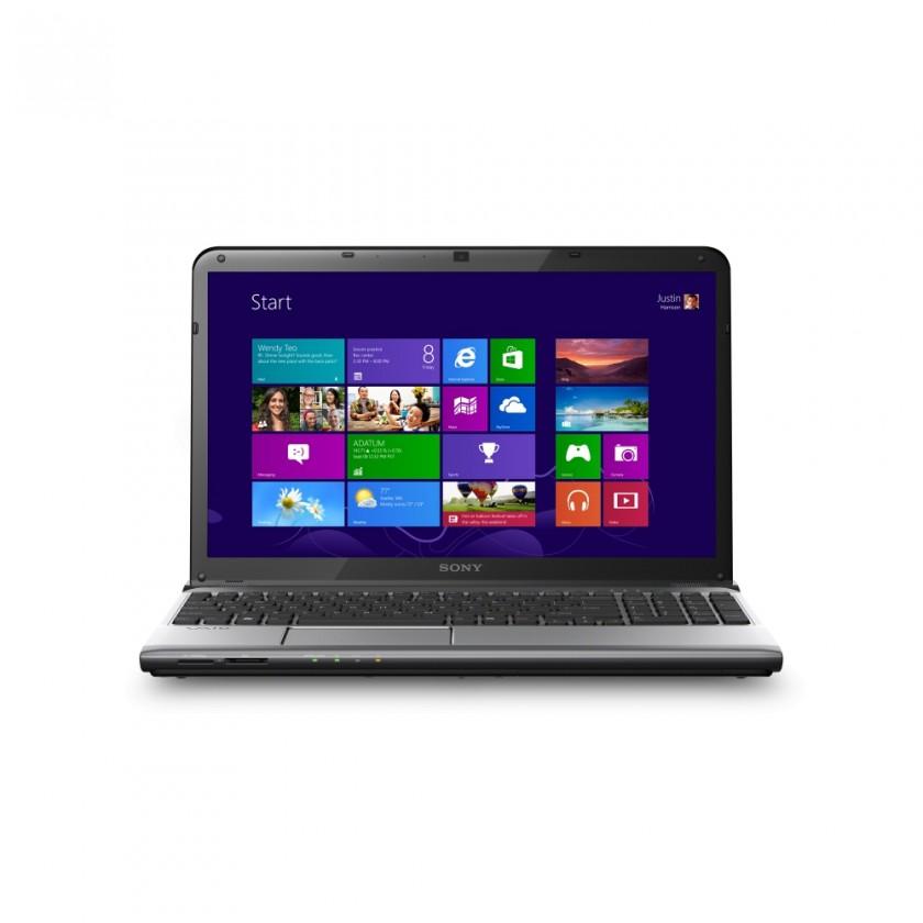 Notebooky  Sony VAIO E15 stříbrná (SVE1513K1ESI.CEZ)