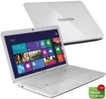 Notebooky  Toshiba Satellite C855-1Q9 bílá  (PSCBYE-00H005CZ) BAZAR