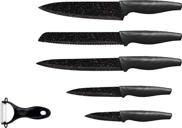 Nože Sada nožů 5 ks + škrabka
