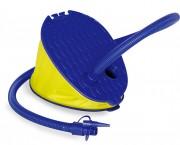 Nožná pumpa (modrá,žltá)