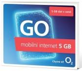 O2 SMALLGOOOV5GB  predplatený GO mobilný internet,5GB